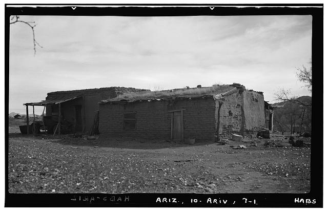 1.  Historic American Buildings Survey F. D. Nichols, Photographer January 1938 - Houses, Arivaca, Pima County, AZ