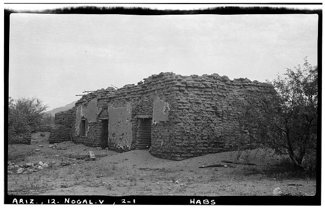 1.  Historic American Buildings Survey Frederick D. Nichols, Photographer August 1937 VIEW OF CHURCH - LOOKING NORTH EAST - San Cayetano de Calabasas (Mission, Ruins), Santa Cruz River Vicinity, Nogales, Santa Cruz County, AZ