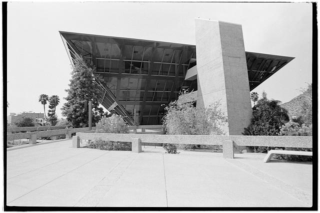 4.  Lobby level,looking northeast - Tempe Municipal Building, 31 East Fifth Street, Tempe, Maricopa County, AZ