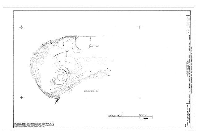 HABS ARIZ,1-CHIN.V,6- (sheet 2 of 2) - Yucca House Ruin, Canyon del Muerto, Chinle, Apache County, AZ