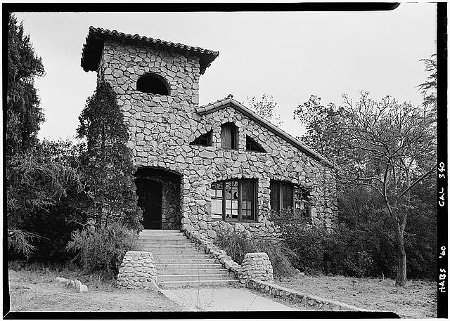 1.   October 1960 WEST ELEVATION - Bolton Hall, 10110 Commerce Avenue, Los Angeles, Los Angeles County, CA