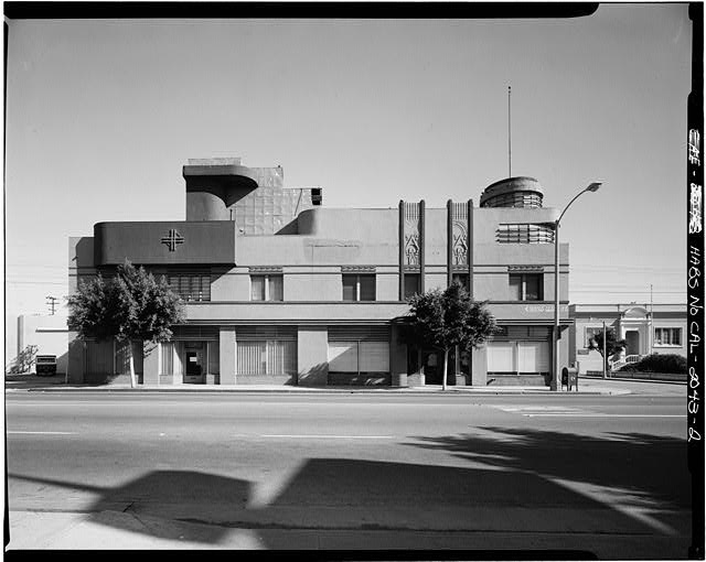 2.  WESTERN ELEVATION - Merle Norman Building, 2525 Main Street, Los Angeles, Los Angeles County, CA