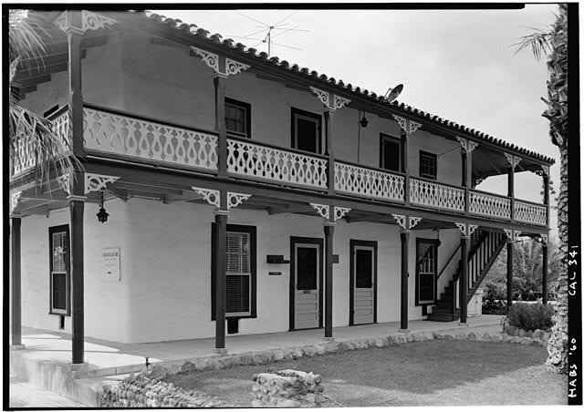 4.   October 1960 FRONT ELEVATION - Casa de Geronimo Lopez, 1102 Pico Street, San Fernando, Los Angeles County, CA