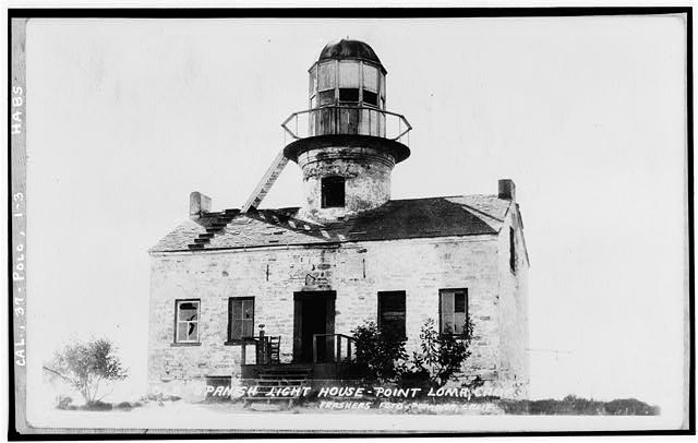 3.  Historic American Buildings Survey C. E. Peterson, Photographer c. 1934 GENERAL VIEW - Point Loma Lighthouse No. 355, (moved), San Diego, San Diego County, CA
