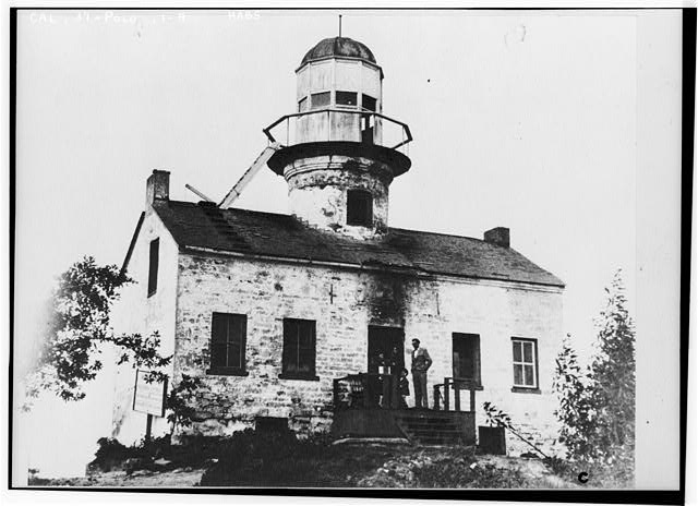 4.  Historic American Buildings Survey (copy) 20th Century Picture EAST FRONT OF LIGHTHOUSE - Point Loma Lighthouse No. 355, (moved), San Diego, San Diego County, CA
