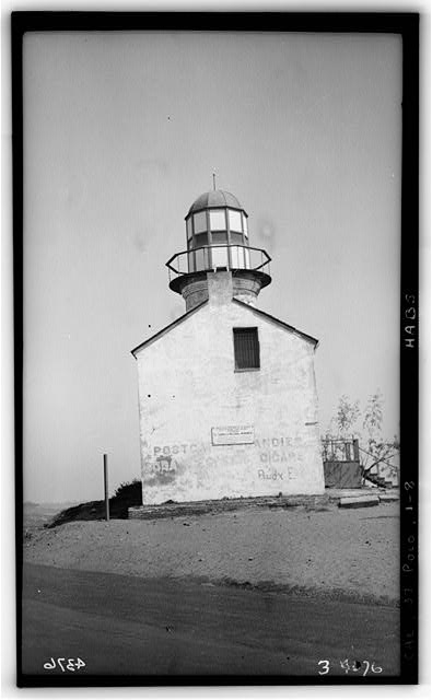8.  Historic American Buildings Survey H. G. Fowler, Photographer - Sept. 12, 1934 SOUTH ELEVATION - Point Loma Lighthouse No. 355, (moved), San Diego, San Diego County, CA