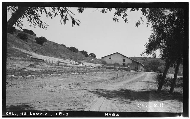 4.  Historic American Buildings Survey Photographed by Henry F. Withey May 1937 MONASTERY - WEST FRONT. - Mission La Purisima Concepcion, Lompoc, Santa Barbara County, CA