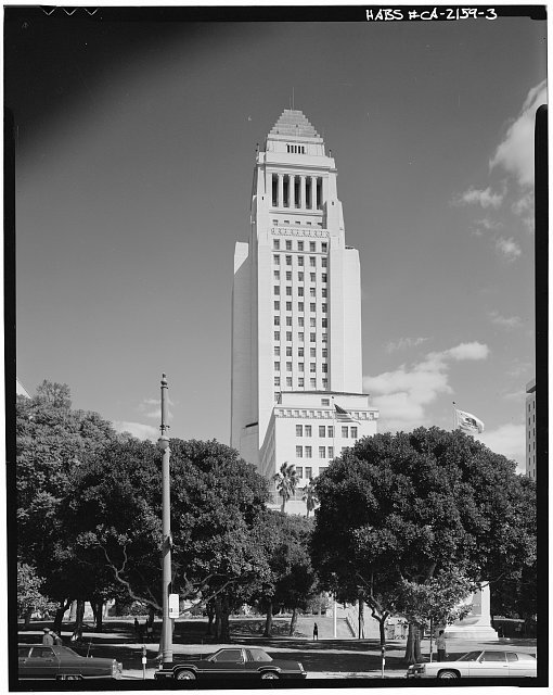 3.  South side - Los Angeles City Hall, 200 North Spring Street, Los Angeles, Los Angeles County, CA
