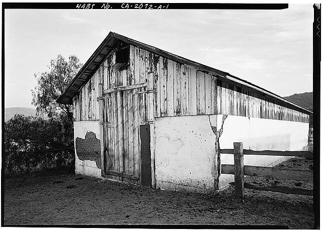 1.  GENERAL VIEW - Johnson-Taylor Ranch, Barn, Black Mountain Road vicinity, Rancho Penasquitos, San Diego County, CA
