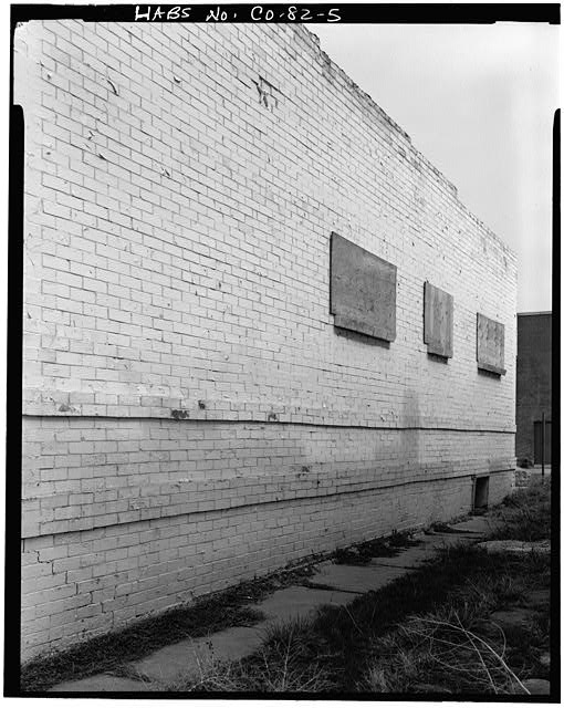 5.  VIEW OF SIDE LOOKING NORTH - Golda Meir House, 1606-1608 Julian Street (moved to 1301 South Lipan Street), Denver, Denver County, CO