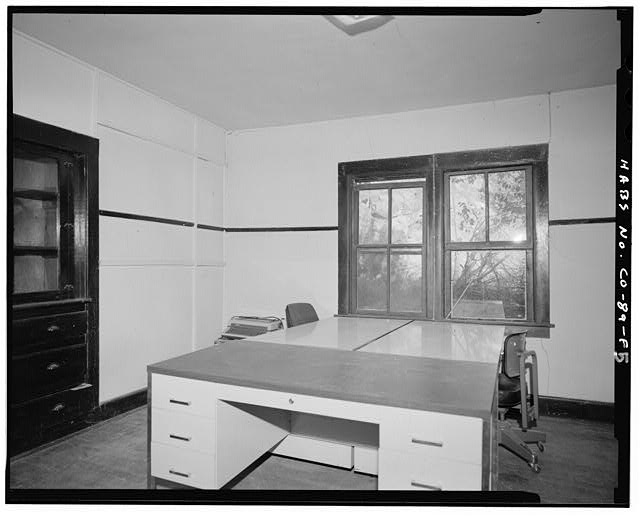 Adam and Bessie Arnet Residence, interior, east jacal room. - Adam & Bessie Arnet Homestead, Adam & Bessie Arnet Residence, 18 feet west of Generator House, Model, Las Animas County, CO
