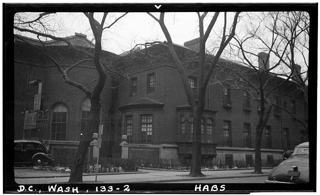 2.  Historic American Buildings Survey Frederick D. Nichols, Photographer December 1938 FIFTEENTH STREET FACADE - John R. McLean House, 1500 I Street Northwest, Washington, District of Columbia, DC