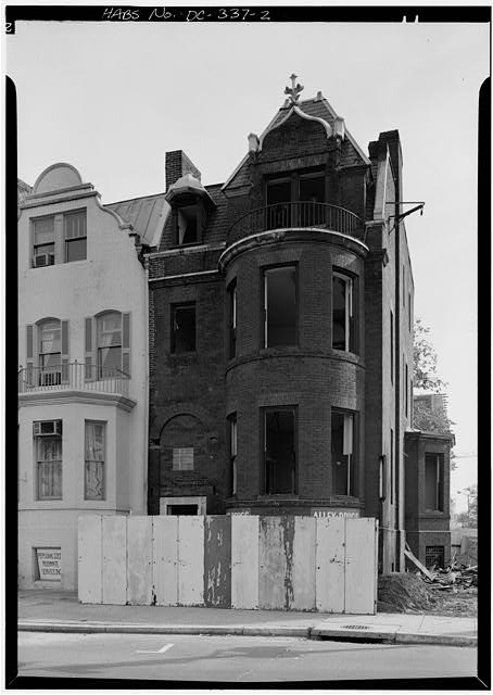 2.  CORNER HOUSE, MAIN FACADE - I Street Northwest, 1900 Block (Houses), Washington, District of Columbia, DC