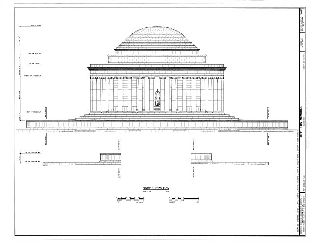 HABS DC,WASH,453- (sheet 14 of 25) - Jefferson Memorial, East Potomac Park, Washington, District of Columbia, DC