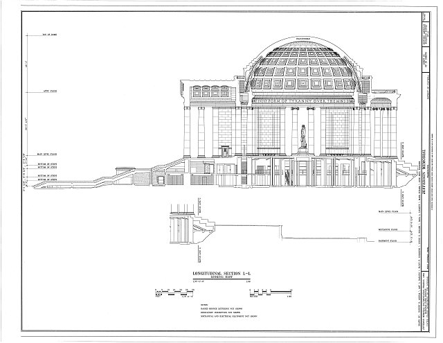 HABS DC,WASH,453- (sheet 16 of 25) - Jefferson Memorial, East Potomac Park, Washington, District of Columbia, DC
