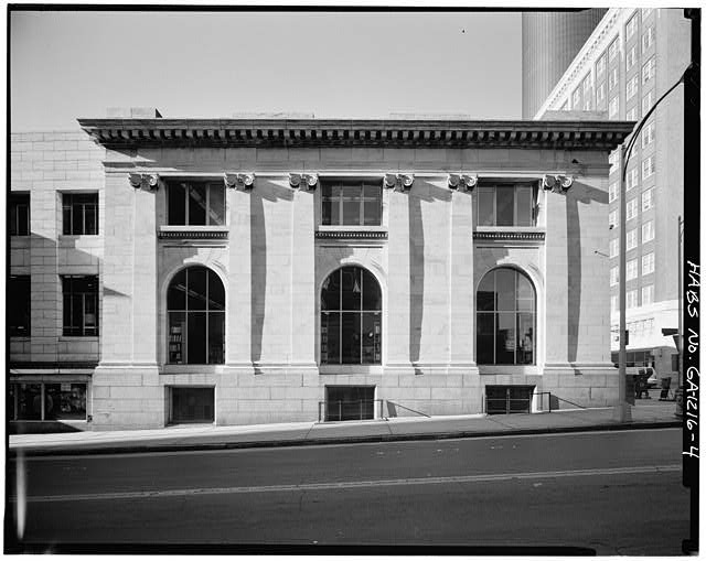 4.  EAST SIDE - Carnegie Library of Atlanta, 126 Carnegie Way, Atlanta, Fulton County, GA