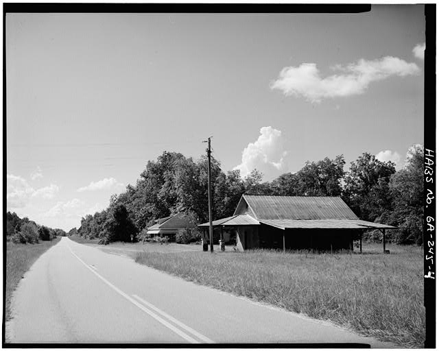 4.  NORTHWEST SIDE - Jimmy Carter Boyhood Home, Old Plains Highway (Lebanon Cemetery Road), Plains, Sumter County, GA