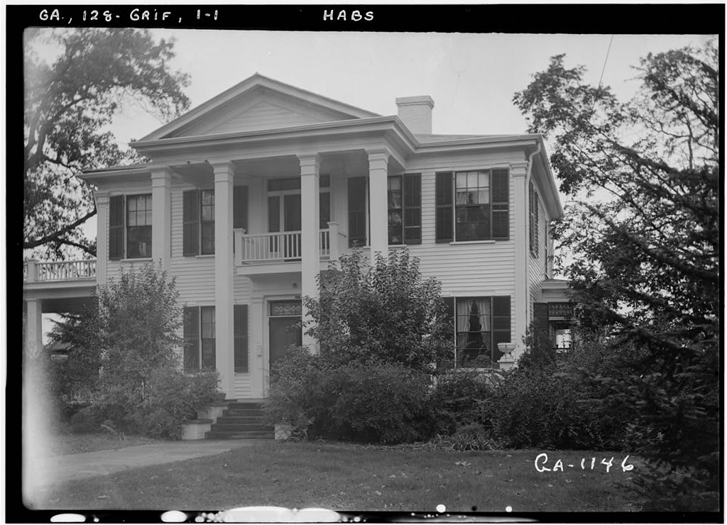 Drewry House 303 North Thirteenth Street Griffin Spalding County GA