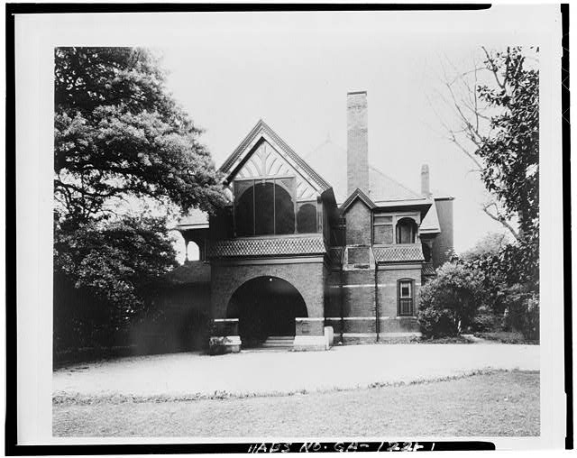 1.  GENERAL VIEW - Edward Peters House, 179 Ponce de Leon Avenue, Atlanta, Fulton County, GA