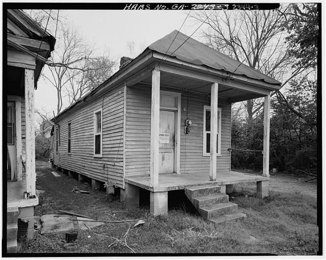 3.  View showing west front and north side elevations - 1636 Fourth Street (House), Columbus, Muscogee County, GA