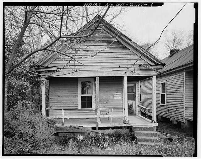 1.  View showing west front elevation - 1638 Fourth Avenue (House), Columbus, Muscogee County, GA