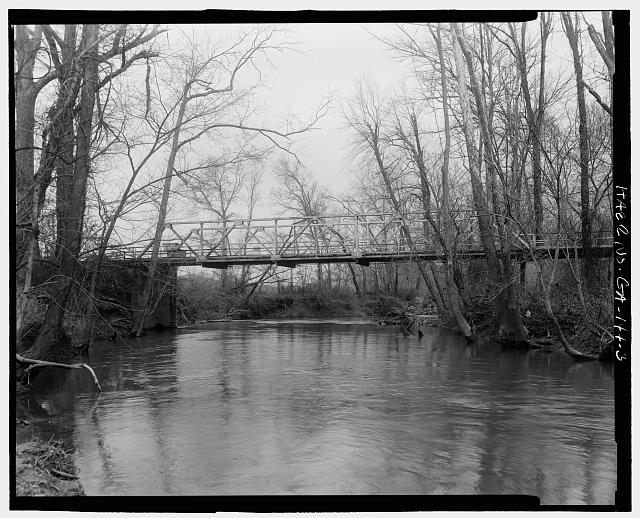 - Georgia DOT Bridge No. 083/00201/X/00372N, Spanning Lookout Creek on County Road 201, New England, Dade County, GA