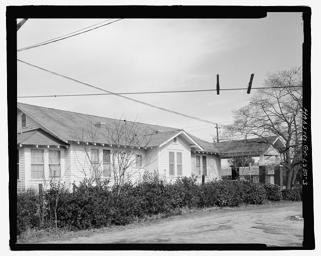 SOUTH SIDE - Mamie R. Brinson House, 341 South Main Street, Statesboro, Bulloch County, GA