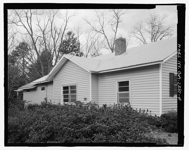 SOUTH SIDE  - Raleigh Brannen House, 339 South Main Street, Statesboro, Bulloch County, GA