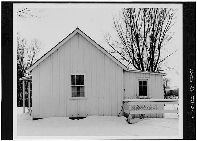 5.  NORTH SIDE - Herbert Hoover Birthplace House, Southwest corner of Penn & Downey Streets (moved), West Branch, Cedar County, IA