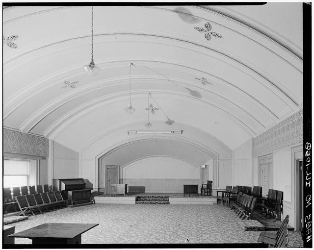 4.  Historic American Buildings Survey Richard Nickel, Photographer, 1961 INTERIOR GERMAN CLUB ROOM - Schiller Building, 64 West Randolph Street, Chicago, Cook County, IL