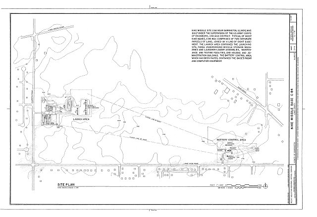 HAER ILL, 49-BARR.V, 1- (sheet 2 of 4) - NIKE Missile Base C-84, East of Quentin Road between LAke Cook & Long Grove Roads, Barrington, Cook County, IL