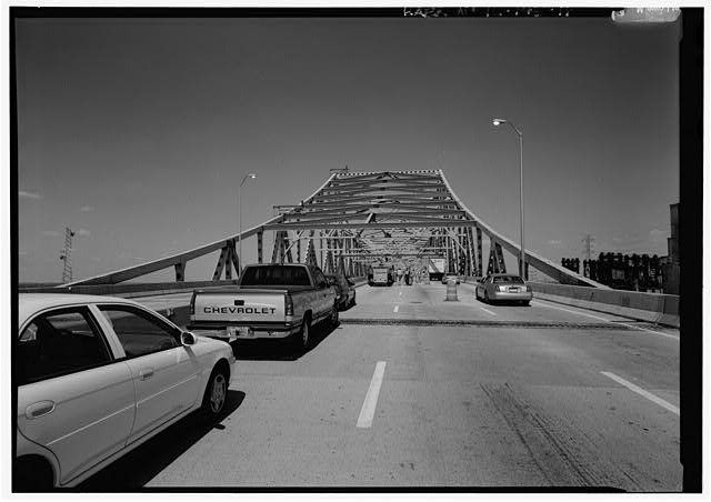 16.  SOUTHEAST PORTAL ELEVATION OF MAIN SPAN. - Chicago Skyway Toll Bridge, I-90, for 7.8 miles from South State Street to Indiana state line, Chicago, Cook County, IL