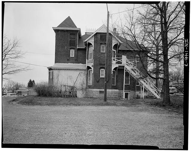 7.  NORTH (SIDE) ELEVATION - Thomas Harrison House, 514 West Main Street, Richmond, Wayne County, IN