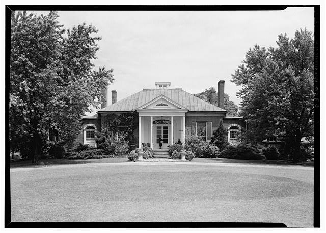 3.  Historic American Buildings Survey Lester Jones, Photographer May 27, 1940 VIEW FROM SOUTHEAST - Ridgeway, 4095 Massey Avenue, Saint Matthews, Jefferson County, KY