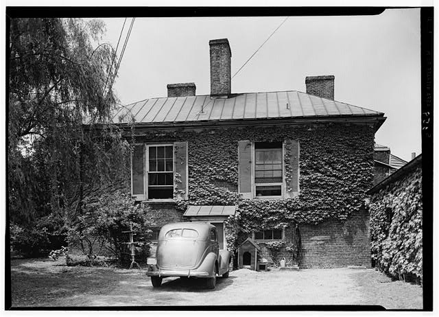 4.  Historic American Buildings Survey Lester Jones, Photographer May 27, 1940 EAST ELEVATION - Ridgeway, 4095 Massey Avenue, Saint Matthews, Jefferson County, KY
