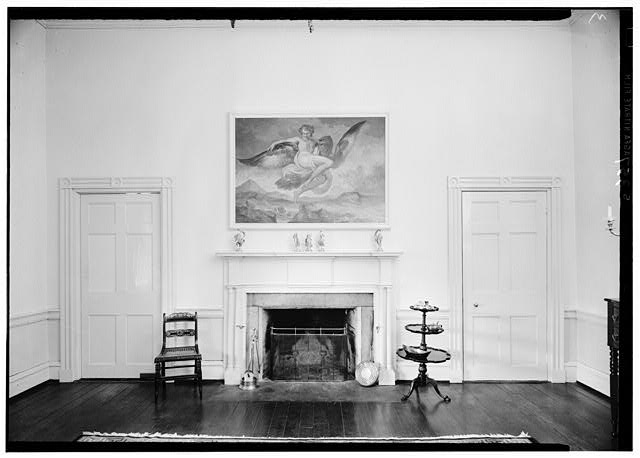 11.  Historic American Buildings Survey Lester Jones, Photographer May 26, 1940 EAST WALL IN DINING ROOM - Ridgeway, 4095 Massey Avenue, Saint Matthews, Jefferson County, KY