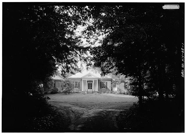 GENERAL VIEW OF THE HOUSE - Ridgeway, 4095 Massey Avenue, Saint Matthews, Jefferson County, KY