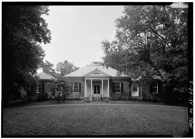 VIEW OF SOUTHWEST (FRONT) ELEVATION - Ridgeway, 4095 Massey Avenue, Saint Matthews, Jefferson County, KY