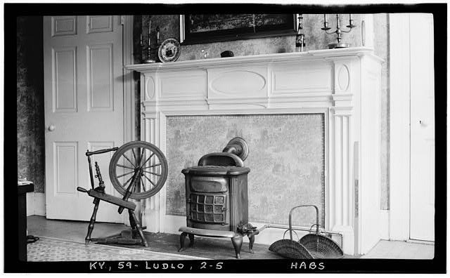 5.  Historic American Building Survey Photographers: (E.F. Schrand (A. R. Arend, Nov. 6, 1936 DETAIL OF MANTEL (ROOM D1) - Elmwood Hall, 246 Forest Avenue, Ludlow, Kenton County, KY