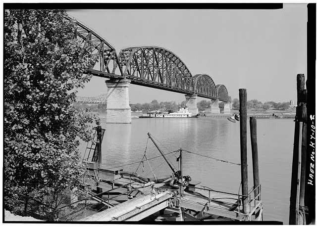 2.  General view from the southeast. - Big Four Bridge, Spanning Ohio River, Louisville, Jefferson County, KY