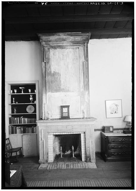 3.  INTERIOR FIREPLACE - Gaillard House, 915-917 Saint Ann Street, New Orleans, Orleans Parish, LA