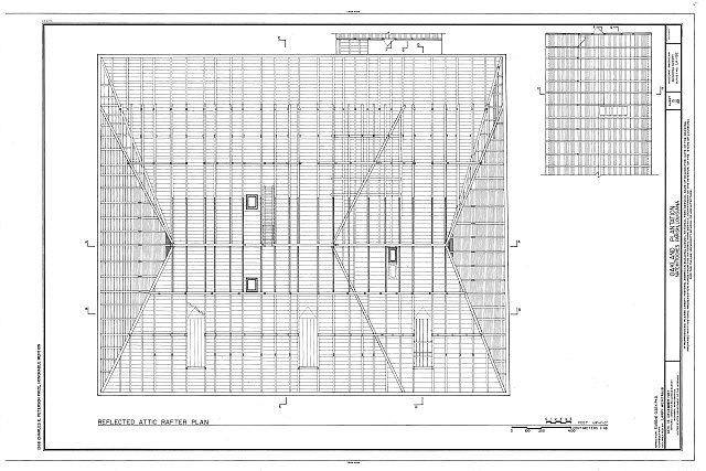 HABS LA,35-BERM,2- (sheet 15 of 32) - Oakland Plantation, Route 494, Bermuda, Natchitoches Parish, LA