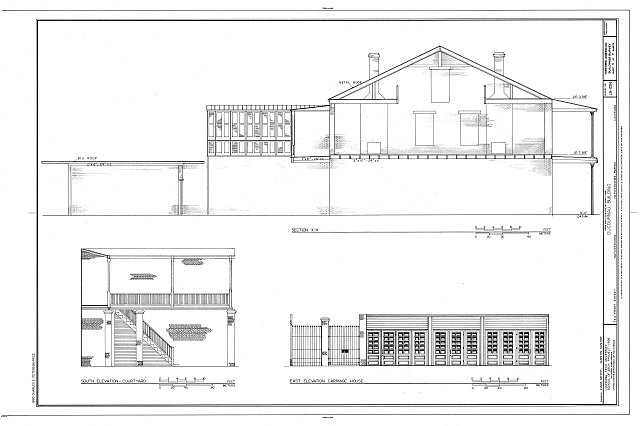 HABS LA,35-NATCH,8- (sheet 6 of 8) - Ducournau Building, 744 Front Street, Natchitoches, Natchitoches Parish, LA