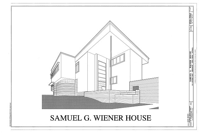 Cover Sheet - Samuel G. Wiener House, 615 Longleaf Road, Shreveport, Caddo Parish, LA