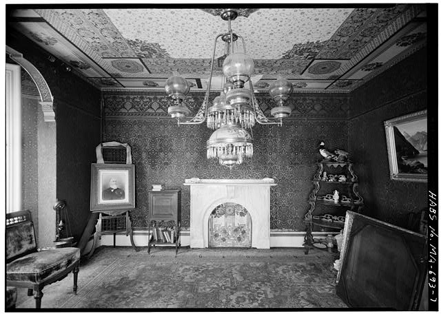 7.  PARLOR, LOOKING NORTHEAST - Captain Edward Penniman House, Fort Hill Road, Eastham, Barnstable County, MA
