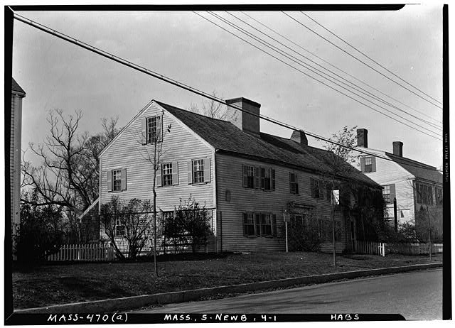 1.  Historic American Buildings Survey Frank O. Branzetti, Photographer Nov. 1, 1940. (a) EXTERIOR-GENERAL VIEW, LOOKING NORTHWEST - Swett-Ilsley House, 4-6 High Street, Newbury Old Town, Essex County, MA