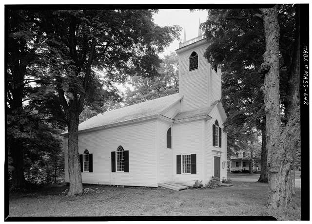 2.  Historic American Buildings Survey Cervin Robinson, Photographer September 1959 EXTERIOR FROM SOUTHEAST - St. John's Episcopal Church, Main Street & Baptist Corner Road, Ashfield, Franklin County, MA