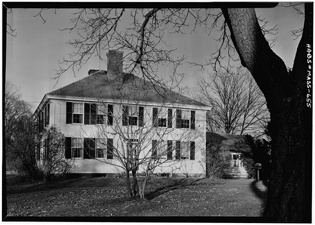 2.   November 1959 SOUTH ELEVATION - White-Field House, Main & Maple Streets, Northfield, Franklin County, MA