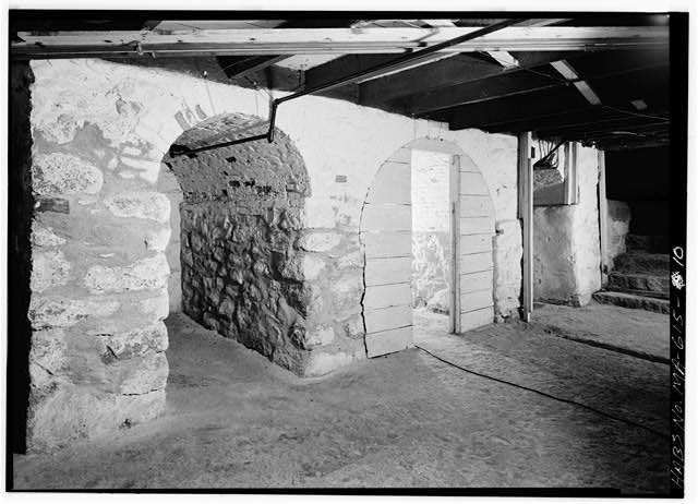 Kitchen cellar - Adams Mansion, 135 Adams Street, Quincy, Norfolk County, MA