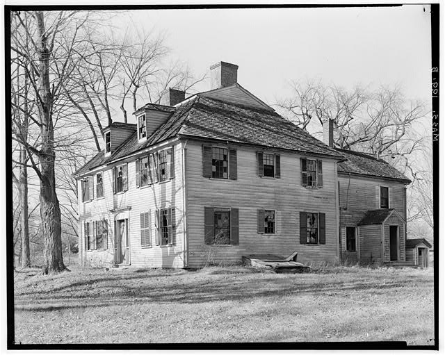 2.  Historic American Buildings Survey, Arthur C. Haskell, Photographer. 1935. (b) Ext- General view from Southeast. - William H. Winn House, 99 Pond Road (moved from New Bridge Avenue & Winn Street, Burlington, MA), Wellesley, Norfolk County, MA
